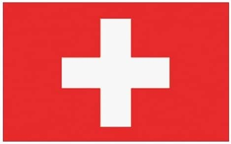 Flaggenking Bandera de King Suiza Bandera/Bandera, Color Blanco ...