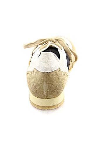 Kickers - Zapatillas para hombre multicolor Beige/Black 46