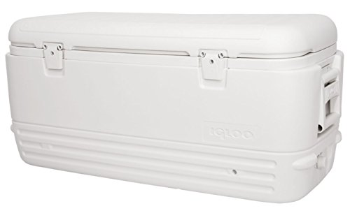 Igloo Polar Cooler (120-Quart, White) (Ice Fishing Seats)