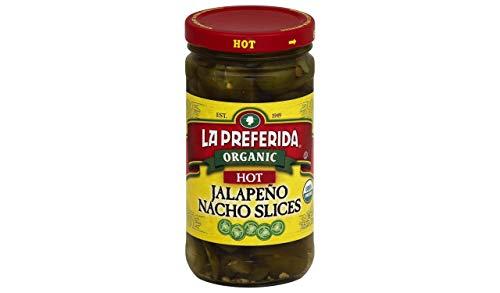 Image of La Preferida Organic Jalapeno Nacho Slices, Hot, 11.5 Ounce (Pack of 12)