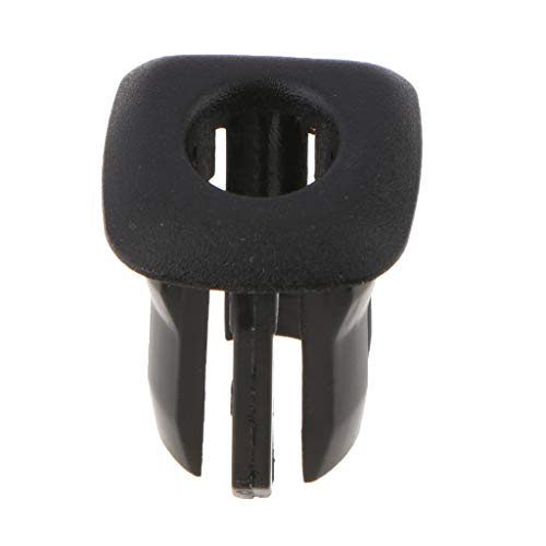 Flameer ABS Plastic Interior Car Door Lock Knob Pin Covers for BMW F10 F18 ()