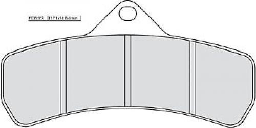 Ferodo brake pads fdb887p Platinum Road (Brake Pads Moto)/Brake Pads fdb887p Platinum Road (Motorcycle Brake Pads):