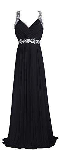Wedding Dress Formal Gown (conail Coco Women's Elegant Royal Formal Dresses Wear Long Wedding Party Gowns (XLarge, Black))