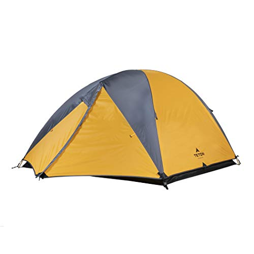- TETON Sports Mountain Ultra 3 Person Tent; Backpacking Dome Tent; Great for Camping; Waterproof Tent with Footprint Included