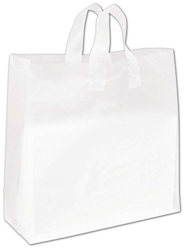 Egp Clear Frosted High Density Flex Loop Shoppers 16 X 6 X 16