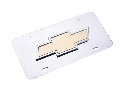 Chrome 3d License Plate - 8