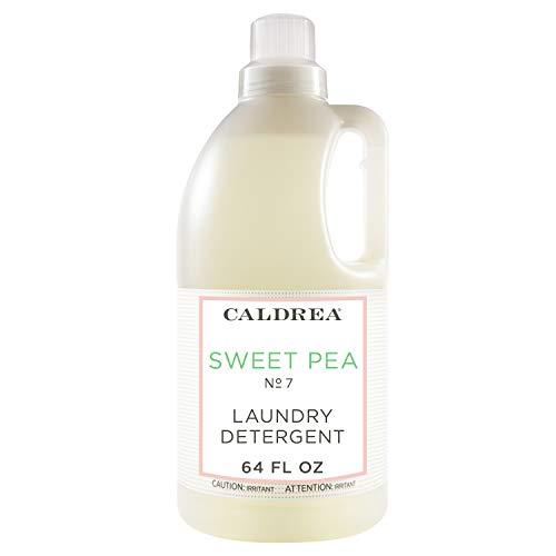 Caldrea Laundry Detergent, Sweet Pea, 64 oz