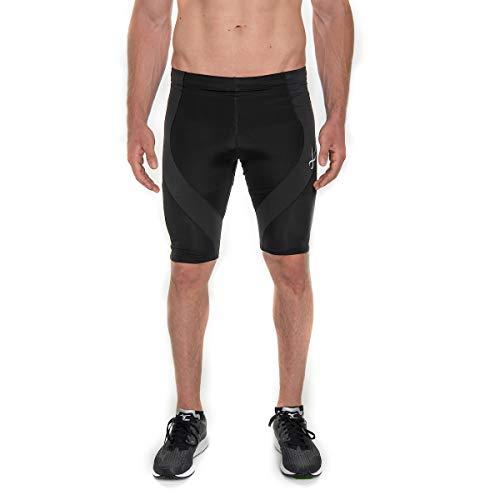 CW-X Men's Pro Shorts (Black, Medium)