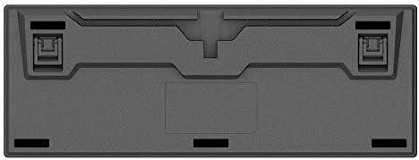 ゲーミング キーボード PBTキーキャップメカニカルゲーミングキーボードコロナチェリーMXブラウンレッドブルー・スイッチ メカニカルキーボード (Color : Black, Size : Brown Switch)