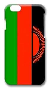 "ICORER iPhone 6 Case Unique iPhone 6 Cases, Malawi Flag 3D Design PC Hard Plastics Case for Apple iPhone 6(4.7"")"