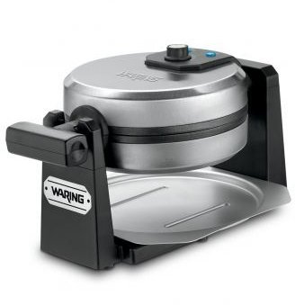 Waring WWM450PC Pro Stainless Steel Rotating Style Single Belgian Waffle Maker (Certified Refurbished) (Waring Professional Waffle Iron compare prices)