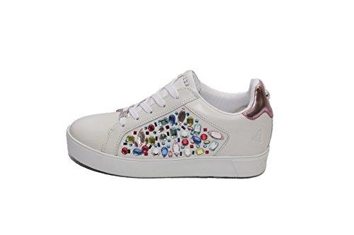 Apepazza Damienne / White / Fuchsia Sneaker Woman 37