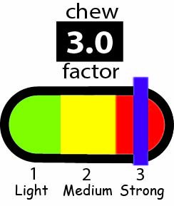 chubuddy Heavy Chewers 10 Pack: 1 each of 3/8'' Slim and 1/2'' Regular Strong Tubes in Red, Blue, Yellow, Green, Black; Non-Toxic Material by CHU-BUDDY (Image #2)