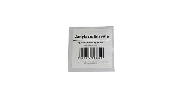 amylase enzimas, 3 gramos: Amazon.es: Hogar