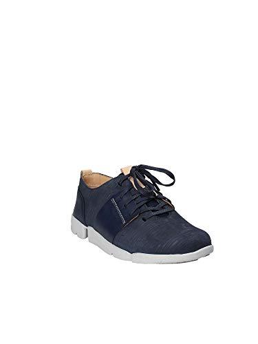 Clarks Tri Marineblau Amelia Damen Sneaker wYr5qxzYT