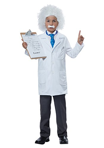 Child Albert Einstein/Physcist Costume - 2XL