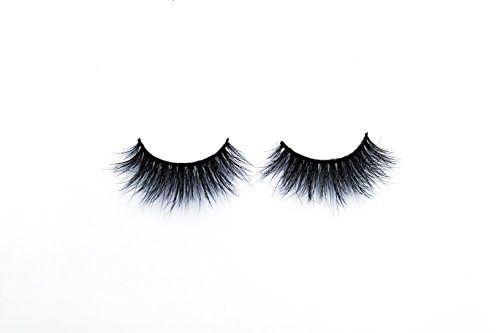 3d Mink Lashes - Faux Fur Eyelash Extensions - 100% Cruelty Free - Hand Made for Long Lasting Results - Easy to Apply and Comfortable False Lashes - by Violette - Eye Cassidy