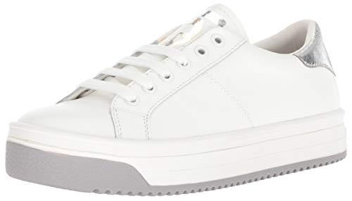Empire Multi Color Sole Sneaker, White/Silver, 37 M EU (7 US) ()