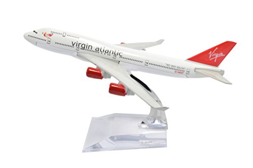 Tang Dynasty Tm  1 400 16Cm Boeing B747 400 Virgin Atlantic Metal Airplane Model Plane Toy Plane Model