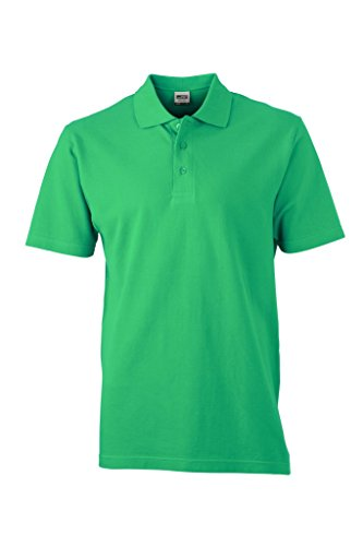 Piqué Polo | JN748, Größe:M;Farbe:irish green