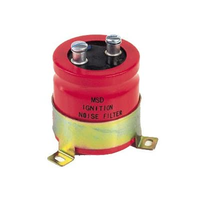 MSD 8830 Red Noise Capacitor: Automotive