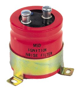 MSD 8830 Red Noise Capacitor by MSD MSD Ignition