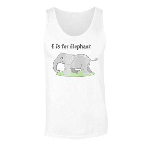 Neue E Für Elefanten Lustig Herren Tank top l380mt