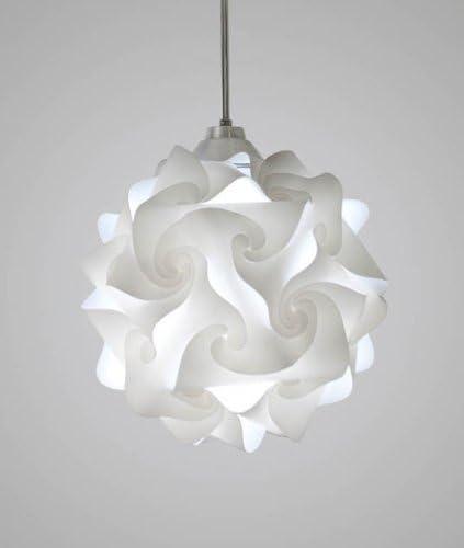 EQLight PH3M01 Hado Light Medium Contempirary Pendant, White