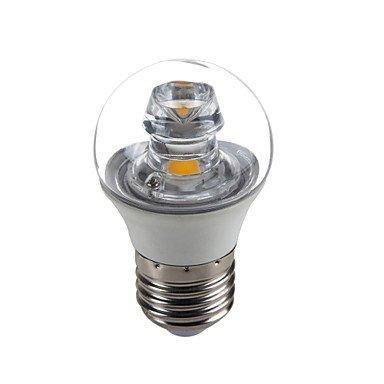 RTS 5 W E26/E27 LED Velas de bombillas G45 1 COB 420 Lm cálida