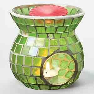UPC 790710862349, Mosaic Tart Burner - Light Green