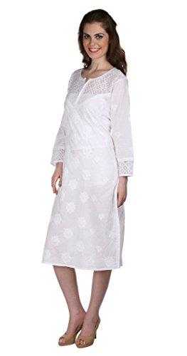Indiankala4U Damen Kleid nh43FSAzca - heli-invasion.com