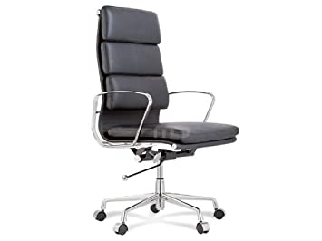 Astonishing Eames Replica Management Chair High Back Soft Pad Andrewgaddart Wooden Chair Designs For Living Room Andrewgaddartcom