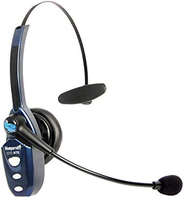 BlueParrott B250-XTS Bluetooth Headset with Micro USB Charging, Noise Cancelling Headset, Long Battery Life, Easily Connect to Multiple Devices at Once
