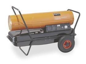 Dayton 3VE51 Oil Fired Heater, 170 K BtuH 120 V