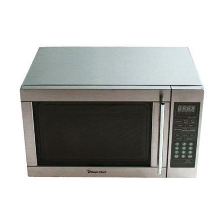 Countertop 1.3-Cubic Foot Digital Microwave, Stainless
