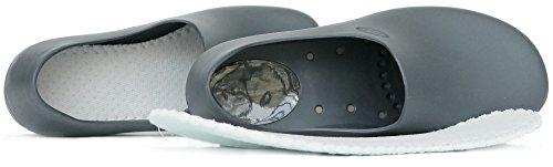 STICKY Bequeme Arbeitsschuhe für Frauen - Waterproof Slip Resistant - StickyPRO Schuhe Dunkelgrau