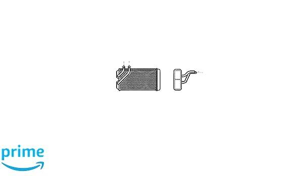 Van Wezel 2006106 intercambiador de calor para sistema de calefacción: Amazon.es: Coche y moto
