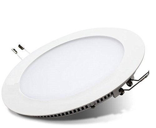 18w led round recessed ceiling flat panel down light ultra slim lamp 18w led round recessed ceiling flat panel down light ultra slim lamp cool white 7000k aloadofball Image collections