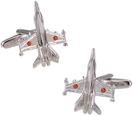 Gemelos para camisa del Avión McDonnell Douglas F/A-18 Hornet ...