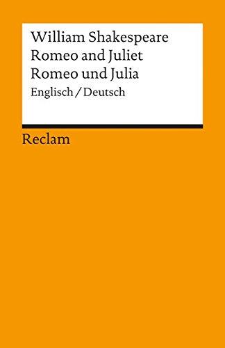 Romeo And Juliet   Romeo Und Julia  Englisch   Deutsch