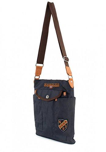 Borsa Donna Tracolla Napapijri Bag Woman Mia Flat Crossover Blu Marine N7C02