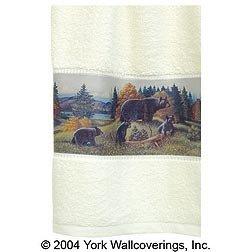 Hand Towel Black Bear Lodge