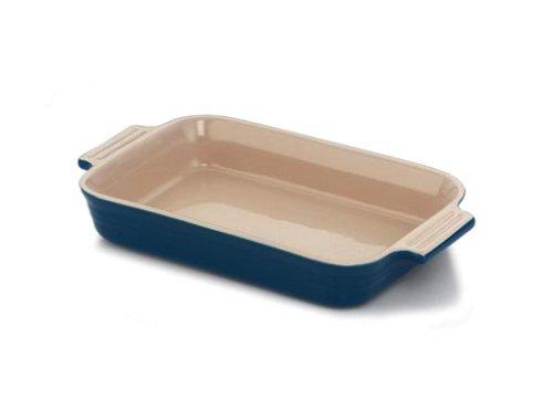 UPC 024147906384, Le Creuset Stoneware 12.5 x 9.5 inch Rectangular Dish, Blue