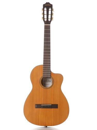 Cordoba La Playa Travel 1/2 Size Acoustic Electric Steel String Classical Guitar