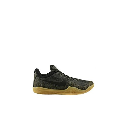 Nike Men's Kobe Mamba Rage Premium Basketball Shoes (10.5, Black/Gold)