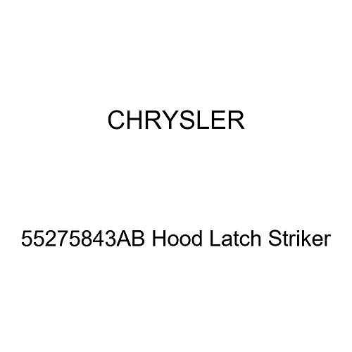 Hood Latch Striker - Genuine Chrysler 55275843AB Hood Latch Striker