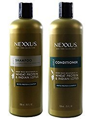 Conditioner Therapy Wheat - Nexxus Shampoo & Conditioner Sheer Frizz Resistance 25 oz
