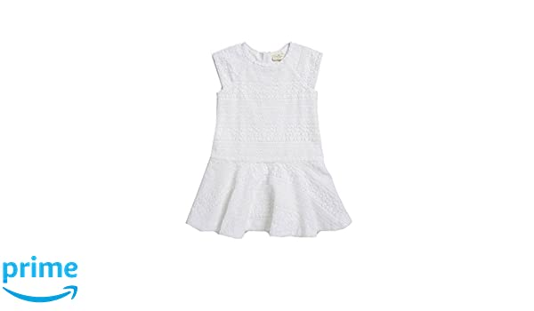 9a35be0194a9b Amazon.com: Kate Spade New York Little Girl's Dropped Waist Crocheted Dress  4Y: Clothing