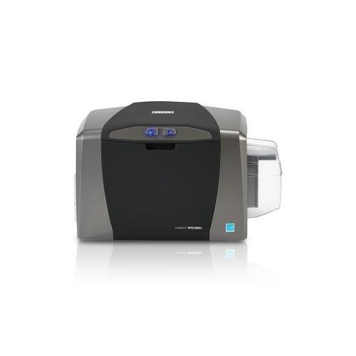 FARGO DTC1250e Single Side Basic Bundle Printer, Ribbon, Cards, USB Cable