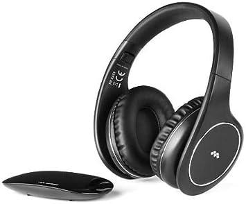 Meliconi HP Easy - Auriculares inalámbricos para TV, Color Negro: Amazon.es: Electrónica